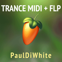 Paul Di White - Trance MIDI Pack + FLP Project