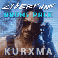 Cyber Punk Drums Sample Pack Library