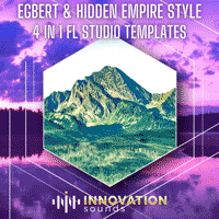 Egbert & Hidden Empire - 4 FL Studio Techno Templates Bundle